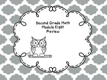 Second Grade Math Module Eight Review Questions