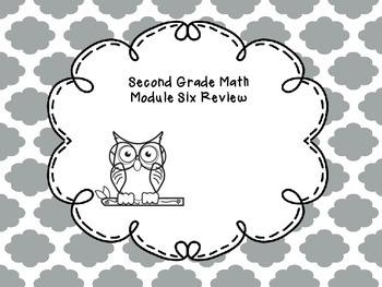 Second Grade Math Module Six Review Questions