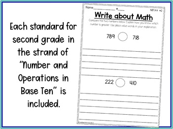 Second Grade Math Number & Operation in Base Ten