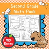 Second Grade Math Pack