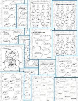 Second Grade Math Pack {January} NO PREP
