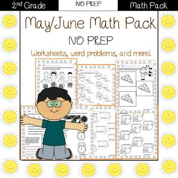 Second Grade Math Pack {May}