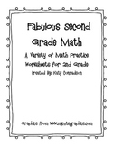Second Grade Math Practice