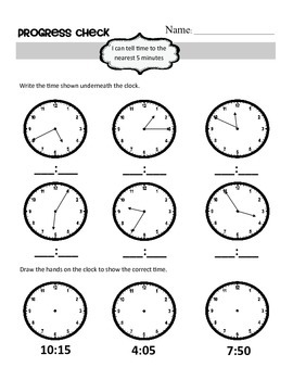 Second Grade Math Progress Assessment for Semester (January)