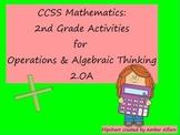 Second Grade Math Promethean/ClassFlow Flip chart CCSS 2.OA with Quiz