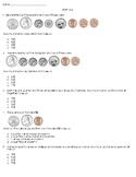 Second Grade Math Quiz (Money, 2.MD.C.8)