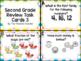 Second Grade Math Review Task Cards BUNDLE