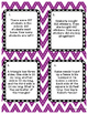 Second Grade Math Review Task Cards Sample FREEBIE!!