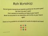 Second Grade Math Standards