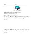 Second Grade Math Story Problems!