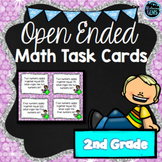 Second Grade Math Task Cards - Open Ended Questions - Higher Order Thinking