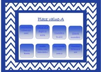 Second Grade Math Technology Time- 2.NBT.1-4 Place Value