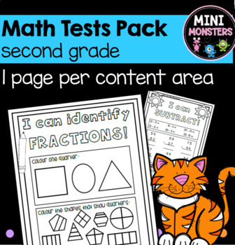 Second Grade Math Tests
