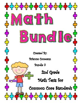 Second Grade Math Tests Common Core Standards