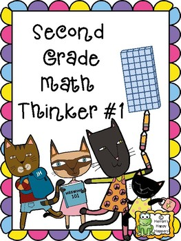 Critical Thinking - Second Grade Math Thinker #1
