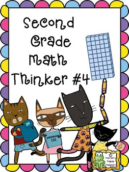 Critical Thinking - Second Grade Math Thinker #4
