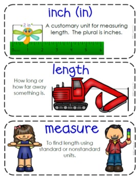 Second-Grade Math Vocabulary - BUNDLE {My Math Series - ALL Units}{CCSS aligned}