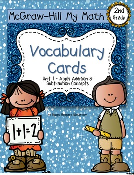 Second-Grade Math Vocabulary - BUNDLE {My Math Series - AL