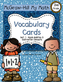 Second-Grade Math Vocabulary {My Math Series - Unit 1}{CCS