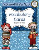 Second-Grade Math Vocabulary {My Math Series - Unit 10}{CCSS aligned}