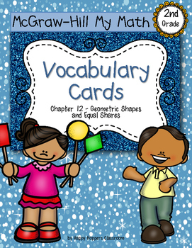 Second-Grade Math Vocabulary {My Math Series - Unit 12}{CCSS aligned}
