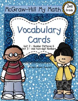 Second-Grade Math Vocabulary {My Math Series - Unit 2 & 3}