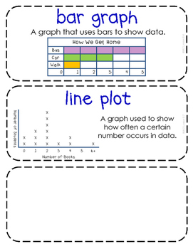 Second-Grade Math Vocabulary {My Math Series - Unit 9}{CCSS aligned}