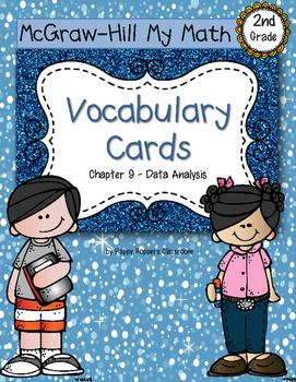 Second-Grade Math Vocabulary {My Math Series - Unit 9}{CCS