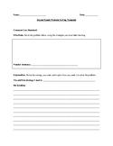 Second Grade Math Word Problem Template