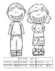 Second Grade Math Worksheets -5 Common Core State Standards-Kids Theme