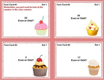 Second Grade Math and ELA Review Cupcake Theme  4 CCSS