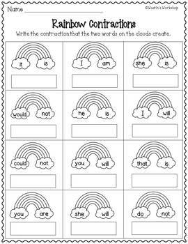 Second Grade Math and Literacy Activities