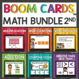 Second Grade May Math Boom Cards™ Digital Activities