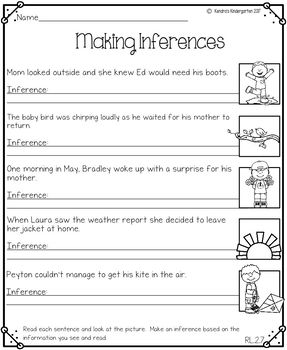 Second Grade May Math and Literacy No Prep Common Core Packet