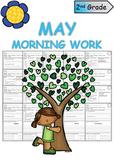 Second Grade May Morning Work