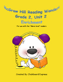 Second Grade McGraw Hill Unit 2 Enrichment Packet