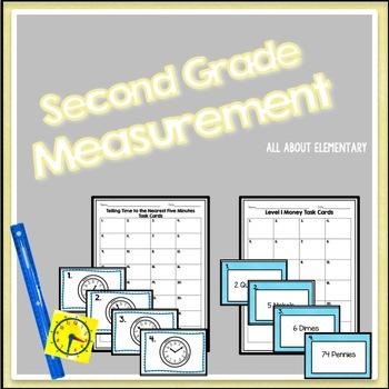 Second Grade Measurement Stations{CCSS}