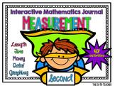 Second Grade Measurement & Data: Interactive Math Journal