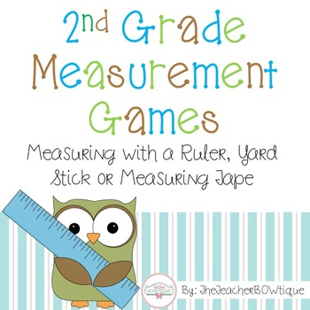 Second Grade Measurement Games 2.MD.1