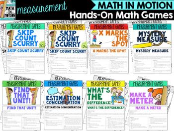 Measurement Math Enrichment Bundle for Second Grade