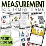 Measurement Worksheets and Assessments | Printable and Google Slides