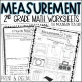 Measurement Worksheets and Assessments | Printable and Goo