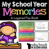 My School Year Memories - A Layered Flip Book / Memory Book