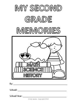 Second Grade Memory Album