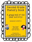 Second Grade Memory Book Activity