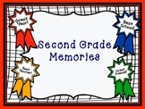 Second Grade Memory Book (End of Year Book)