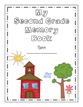 Second Grade Memory Book (Full Page)