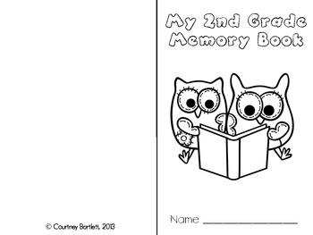 Second Grade Memory Book (with multiple cover options)