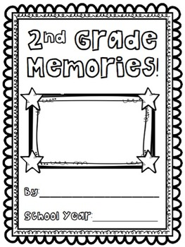 Second Grade Memory Book/End of Year