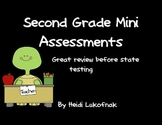 Second Grade Mini Assessments-Practice for State Testing